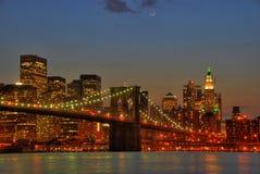 bridżowy Brooklyn Obrazy Stock