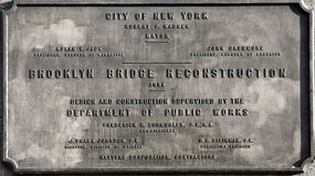 bridżowy Brooklyn nowi usa York Zdjęcia Royalty Free