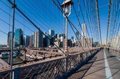 bridżowy Brooklyn nowy York Zdjęcie Royalty Free