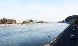 bridżowy Budapest Obrazy Royalty Free