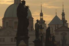 bridżowy Charles jutrzenkowy Prague zdjęcie royalty free
