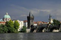 bridżowy Charles Prague Zdjęcie Stock