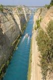 bridżowy Corinth Obrazy Stock
