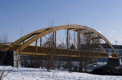 bridżowy drewniany Zdjęcie Royalty Free