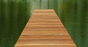 bridżowy drewniany Obrazy Royalty Free