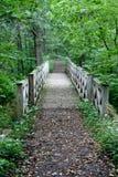 bridżowy drewniany Obraz Stock