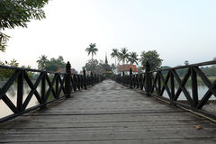 bridżowy drewno Zdjęcie Stock