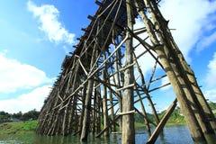 bridżowy drewno Obraz Stock