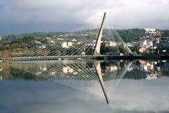 bridżowy Galicia Pontevedra Fotografia Stock