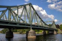 Bridżowy Glienicke w Berlin Obrazy Royalty Free