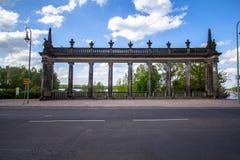 Bridżowy Glienicke w Berlin Fotografia Royalty Free