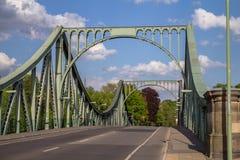 Bridżowy Glienicke w Berlin Obraz Stock