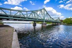 Bridżowy Glienicke w Berlin Obraz Royalty Free