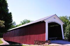 bridżowy hillsdale Indiana Zdjęcie Royalty Free