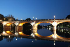 bridżowy Isabella Italy Turin Obraz Royalty Free