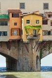bridżowy Italy ponte vecchio Obrazy Stock