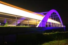 bridżowy lekki pobliski sztachetowy Stuttgart Obrazy Stock