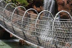bridżowy linowy zawieszenie Obraz Stock