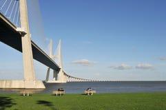 bridżowy Lisbon Zdjęcie Stock