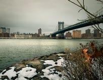 bridżowy Manhattan Zdjęcia Royalty Free