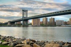 bridżowy Manhattan Obrazy Stock