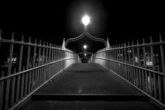 bridżowy miasto Obrazy Royalty Free