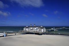 bridżowy morze fotografia royalty free