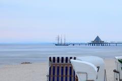 bridżowy morze Obrazy Royalty Free