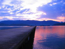 Bridżowy morze Zdjęcie Royalty Free