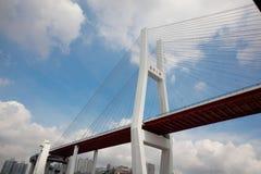 bridżowy nanpu Shanghai Fotografia Royalty Free