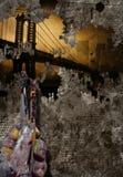 Bridżowy NYC obraz Fotografia Stock