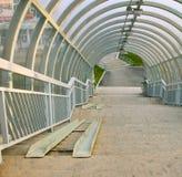 bridżowy pieszy Zdjęcie Royalty Free