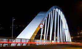 bridżowy Ponferrada Obrazy Stock