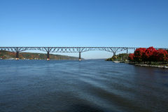 bridżowy poughkeepsie Zdjęcie Royalty Free