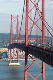 bridżowy ruch drogowy Zdjęcia Stock