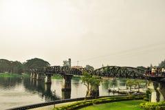 Bridżowy Rzeczny Kwai Zdjęcie Stock