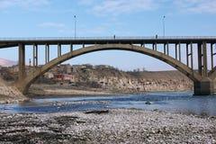 bridżowy rzeczny Tigris Obrazy Royalty Free