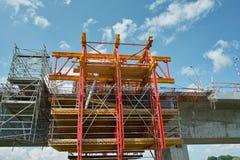 bridżowy rzeczny Vistula Zdjęcie Stock