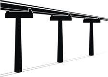 bridżowy skyway Zdjęcia Stock