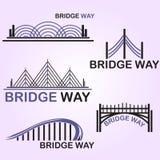 Bridżowy sposób Obraz Royalty Free