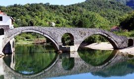 bridżowy stary Fotografia Stock
