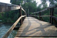 bridżowy stary drewniany Zdjęcia Stock