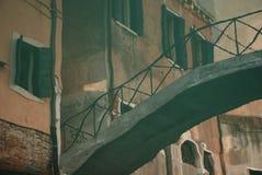bridżowy stary odbicie Fotografia Stock