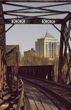 bridżowy stary wausau Zdjęcie Stock