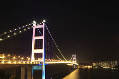 bridżowy tsing Yi Zdjęcia Royalty Free