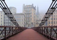 Bridżowy widok Fotografia Stock