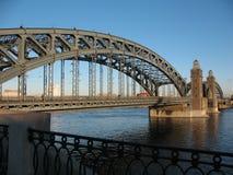 bridżowy wielki Peter Fotografia Royalty Free