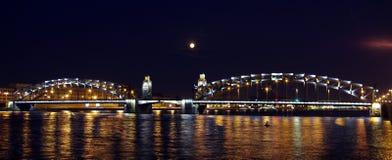 bridżowy wielki Peter Zdjęcia Royalty Free