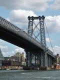Bridżowy wierza Williamsburg most w Miasto Nowy Jork Zdjęcie Royalty Free
