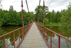 bridżowy zawieszenie Fotografia Stock